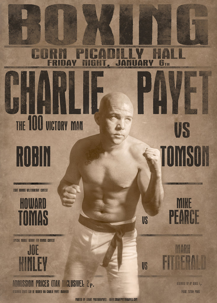 CHARLIE PAYET - the boxing day